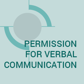 Permission for Verbal Communication Form